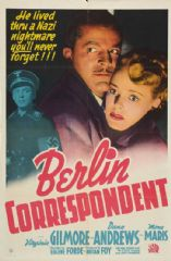 Berlin Correspondent 1942 DVD - Virginia Gilmore / Dana Andrews